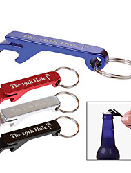 Aluminum Beer Bottle Opener Keychain