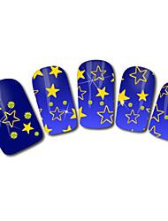 Stars Design Hot Stamping Nail Art Stickers