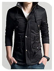 2015 Autumn And Winter Warm New Fashion Men Trench Coat Jacket