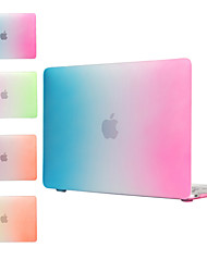 "Case for MacBook 12"" with Retina display Color Gradient  Plastic Material Rainbow Design PC Full Body Case"