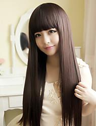 Япония и Южная Корея моды коричневый Лю Ци Хай длинные прямые волосы парик
