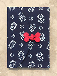 teste padrão chinês tradição têxtil notabook / presente