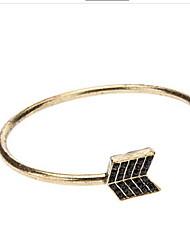 Opening Minimalist Geometric  Ancient Arrow Bracelet