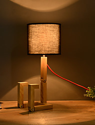Artistical Wood Table Lamp