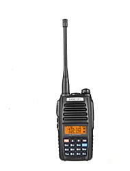 UHF: 400-519mhz&VHF: 136-174MHz 5W fm Zweiwegradio Walkie-Talkie-Transceiver Sprech e600