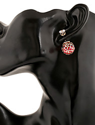 Women's Fashion Vintage/Cute/Party/Work/Casual Alloy Stud Earrings