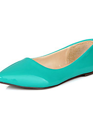 Women's Shoes Patent  Flat Heel Pointed Toe/Closed Toe Flats