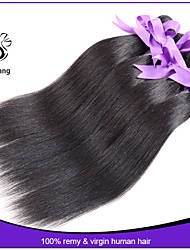 Indian Virgin Hair Straight 3 pcs lot Human Hair Weave Wholesale unprocessed hair extensions