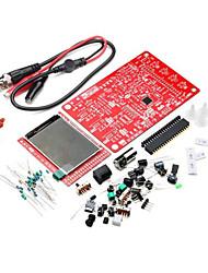kit osciloscópio digital kit de aprendizagem electrónica dso138 diy