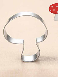 Mushroom Shape Cookie Cutters Fruit Cut Molds Stainless Steel