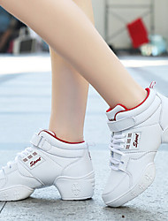 Women's Dance Shoes Sneakers Breathable Real Leather Low Heel(More Colors)