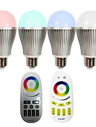 Lâmpada de LED Smart Regulável/Controle Remoto E26/E27 9 W 600-700 LM K Muda de Cor LED Integrado 1 pç AC 85-265 V