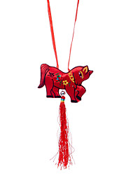 China Hand Embroidery Pendant--Twelve Zodiac Horse Plane