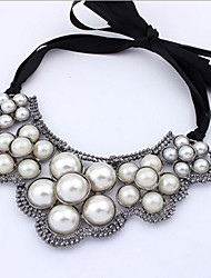 New Arrival Fashional Hot Selling Geometric Retro Pearl Necklace