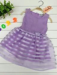 Vestido(Algodón / Organza)-Bonito
