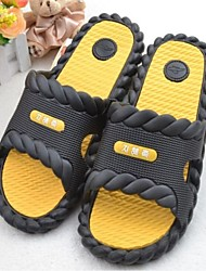 Men's Shoes Casual Rubber Slippers Black/Blue