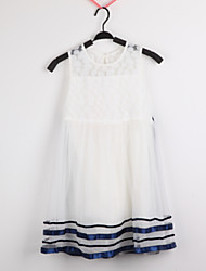 Kid's Cute/Party Dresses (Cotton/Organza)