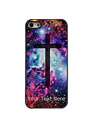 Personalized Gift The Cross Design Aluminum Hard Case for iPhone 5/5S