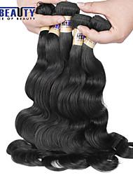 """1 pc / lot 12 """"-30"""" brasilianische reine Haarkörperwellen-Menschenhaareinschlagfäden 100% unverarbeitetes brasilianisches remy Haar spinnt"""