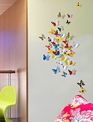 Animals 3D Wall Stickers 3D Wall Stickers Decorative Wall Stickers Fridge Stickers,Vinyl Material Re-Positionable Home DecorationWall