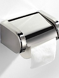 Bathroom Chrome Finished Stainless Steel Toilet Wall Mounted Paper Roll Holder