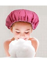 Doppelseiten Nutzung dicken multifunktionale Duschhaube Haartrockenkappe zufällige Farbe