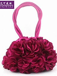 AIKEWEILI®Women's Bag Fashion Silk Flower Clutch Bag Mini Sweet Lady's Purse Hot All-Match Wedding Party Bag