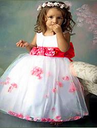 Girl's  Fashion Leisure Petal Princess Sleeveless  Formal Dress