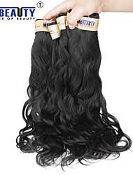 """1 pc / lotto 12 """"-22"""" 6abrazilian capelli vergini onda naturale dei capelli umani di trame di 100% capelli non trattati remy brasiliani"""