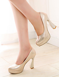 Women's Shoes Stiletto Heel Heels Pumps/Heels Wedding/Party & Evening Black/Silver/Gold