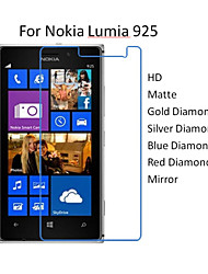10pcs HD Transparent Protector Screen Film for Nokia Lumia 925
