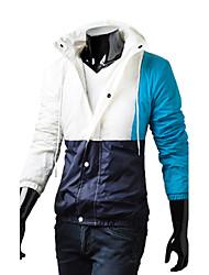 Men's Casual/Sport Long Sleeve Regular Jacket