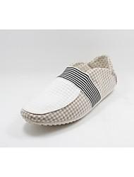 Men's Shoes Casual Fabric Blue/Beige