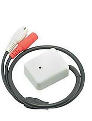 module haut du microphone de sensibilité avec prise RCA pour la surveillance audio