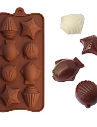 Shellfish Shaped Baking Molds Ice/ Chocolate / Cake Mold