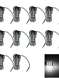 10X 18 5050 SMD LED H3 Bulb White Fog Light Parking Low High Beam Lamp DC 12V H054