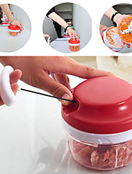 Multifunctional Manual High Speedy Vegetable Fruit Meat Twist Chopper Cutter Shredder Grinder