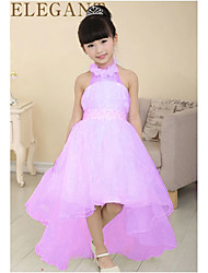 Kid's Dress , Mesh Casual/Party qicai