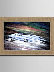 Картины маслом одна панель современный абстрактный гонки ручная роспись естественно белье готовы повесить