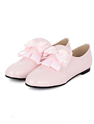 Girls' Shoes Casual Round Toe  Flats Black/Pink/Beige