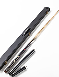 3/4 Jointed  Handmade Ash Shaft Snooker/Billiard Riley Cue Ronnie O`Sullivan World Champion Series +cue case