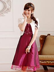 mariage enveloppe dentelle à manches courtes / polyester élégantes boléros de dentelle noir / blanc boléro shrug