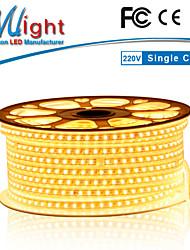 Mlight 10 M 72 leds/m 5630 SMD Warmweiß Wasserdicht/Schneidbar 12 W Flexible LED-Leuchtstreifen AC110-220 V