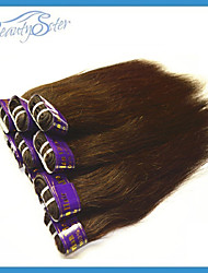 "Wholesale Cheap Peruvian Human Hair Straight Style 1Kg Color Brown Beauty Hair 14""~22"" Grade5A Cheap Hair Extensions"