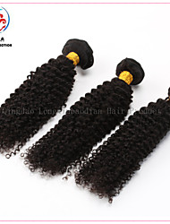 3 Bundles Top Qualtity Cheap Price Original Human Hair Natural Colour Kinky Curly Virgin Brazilian Hair Weft