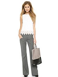 Werk - Polyester - Micro-elastisch - Kostuum - Broek - Vrouwen