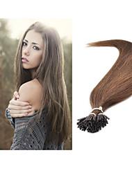 1pc / lot pro-bonded estensione dei capelli brasiliani capelli umani 1g / strand 100g / pc extension di capelli naturali tutti colori in