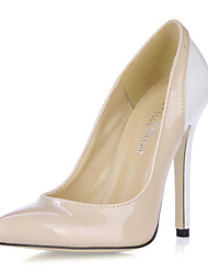 Women's Heels Spring Fall Comfort Patent Leather Office & Career Party & Evening Dress Casual Skin
