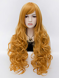 The European and American Wind Noble King Air Volume Curly Hair Wigs