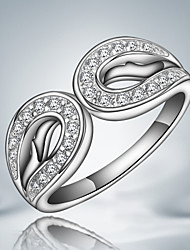 S925 Silver Plated Party Classical Design Ring